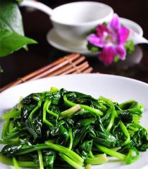 Chinese Spinach Stir Fry