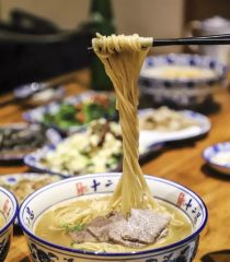 Easy Hand Pulled Noodles