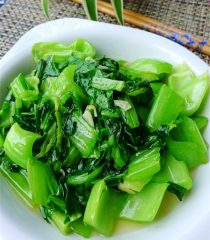 Chinese Mustard Greens Stir Fry