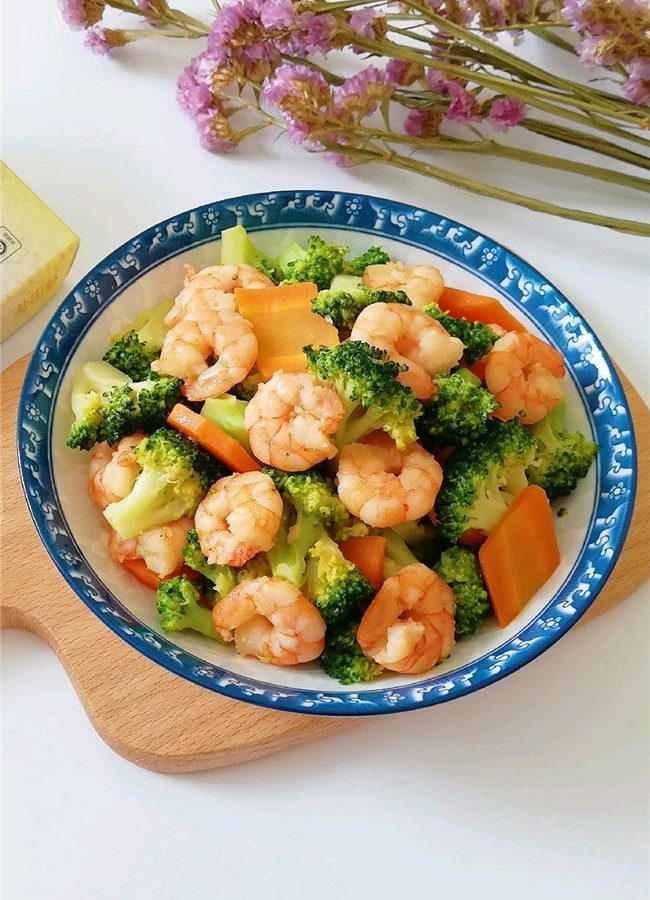 Shrimp and Broccoli