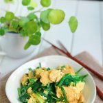 Chinese Chive and Egg Stir Fry